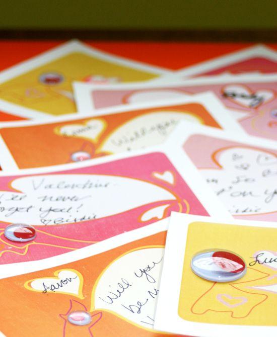 valentines day card print