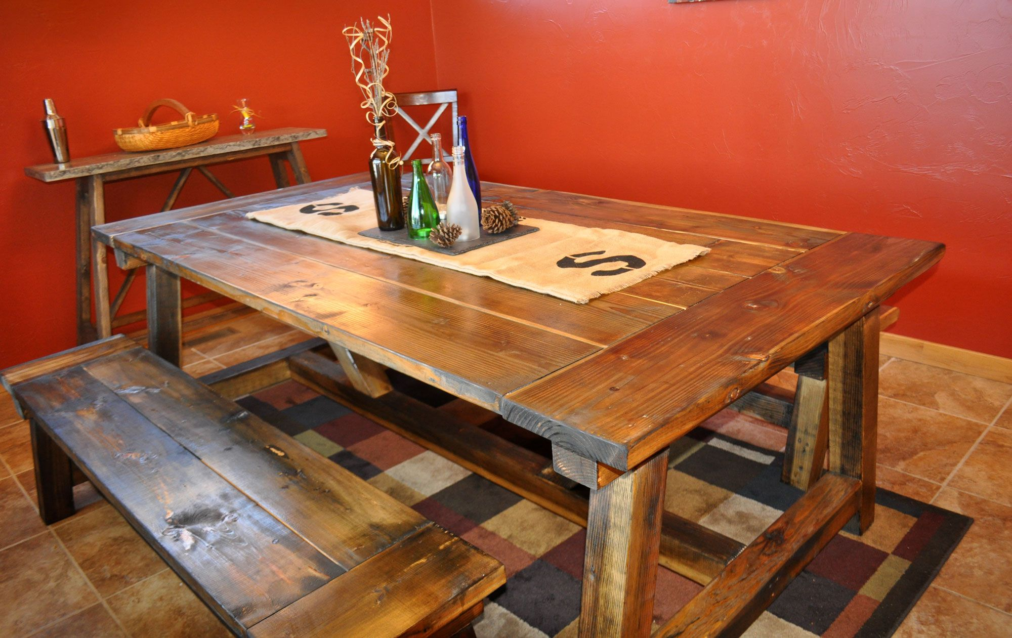 Diy Rustic Dining Room Table 11 free diy woodworking plans for a farmhouse table
