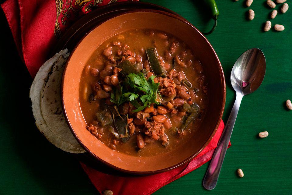 Cowboy Bean Stew
