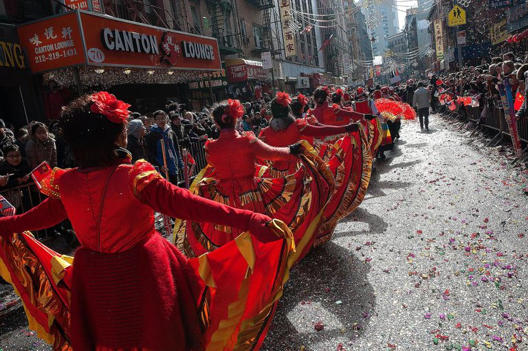 The Chinese New Year celebration in New York City signifies the importance of ethnicity in building and maintaining community.