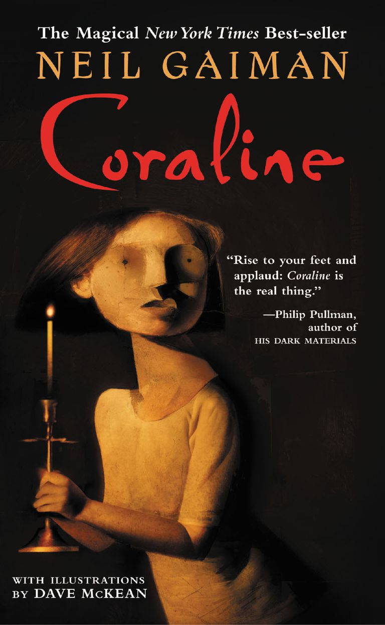 Coraline by Neil Gaiman - Book Cover