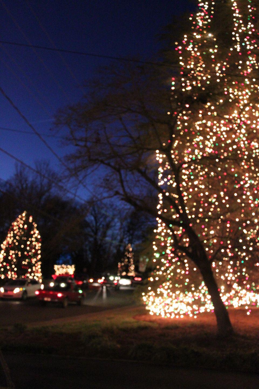Mcadenville Lake Photos Of Christmastown Usa