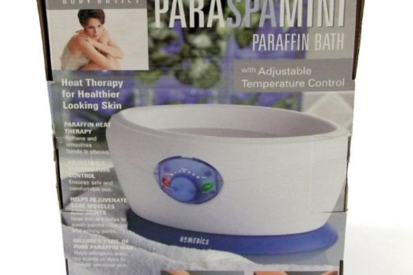 Paraffin wax spa/bath soothes aches and pains.
