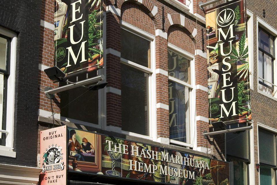 Cannabis Museum in Amsterdam, Netherlands