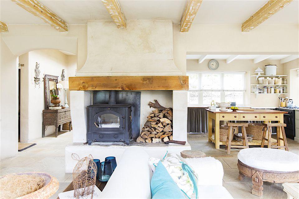 Light interiors home decoration
