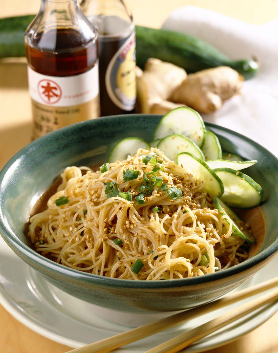 Vegan Szechuan Style Chinese Noodles