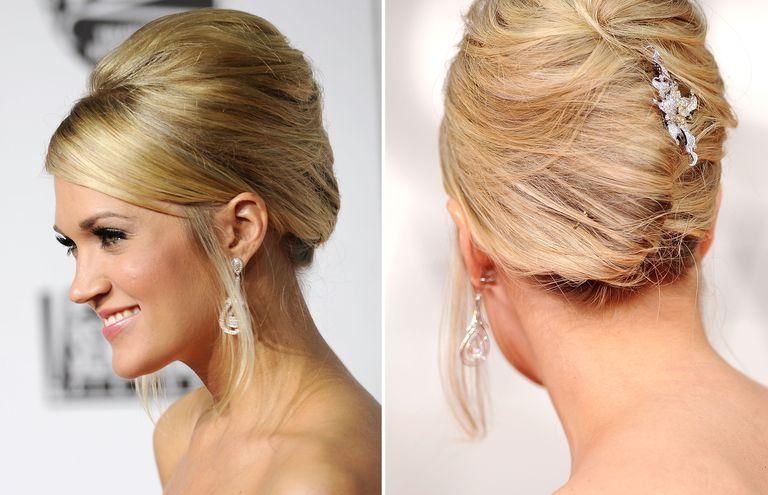 Wedding hairstyles updos inspired by the red carpet carrie underwood urmus Gallery
