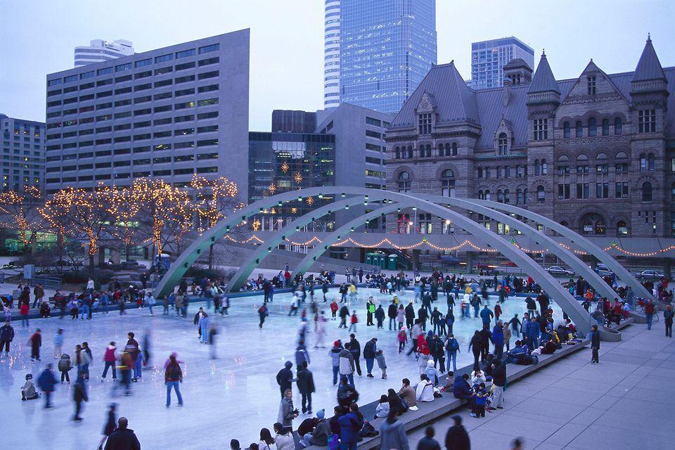 Ice skating Toronto