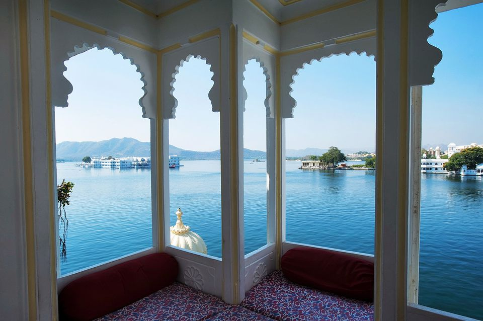 View from Jagat Niwas, Udaipur.