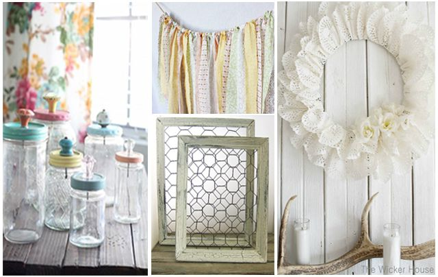 10 shabby chic nursery projects you can diy. Black Bedroom Furniture Sets. Home Design Ideas