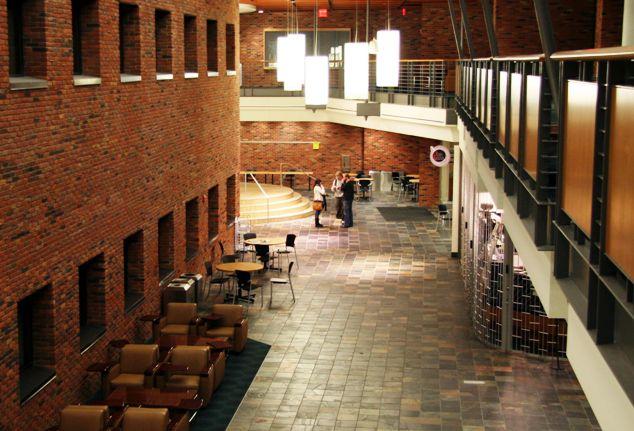 Bethel University Commons Building