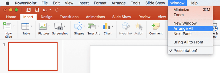 Arrange All Screenshot