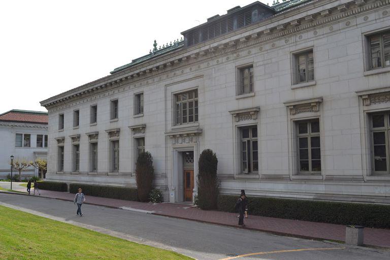 California Hall at Berkeley