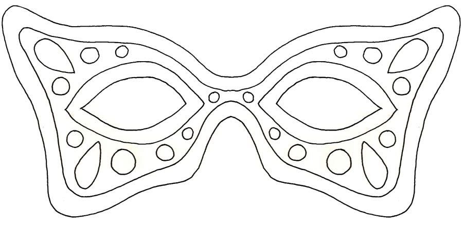 19 free mardi gras mask templates for kids and adults pronofoot35fo Gallery