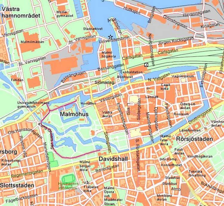 Maps of Scandinavia