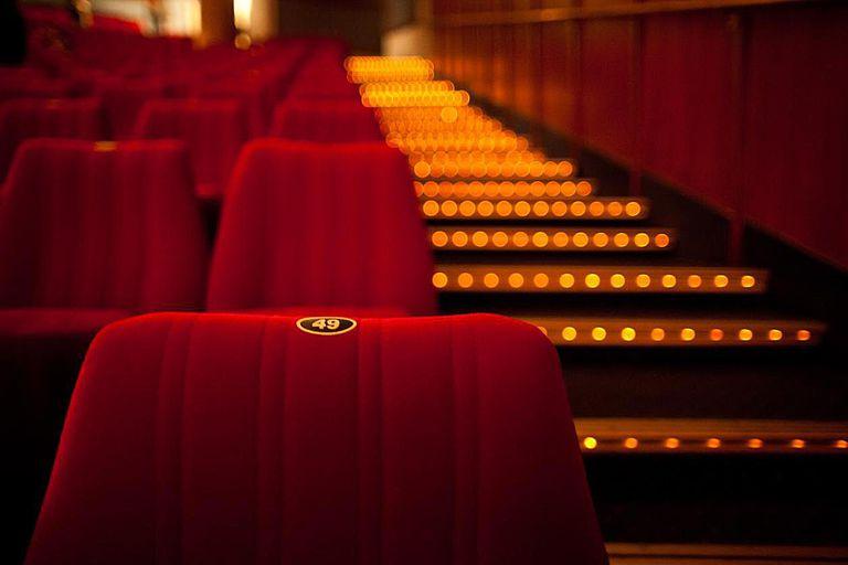 Cinema theater seat Seat in cinema theater.