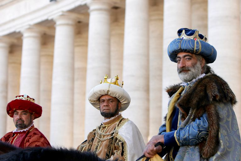 Epiphany Is Celebrated At Vatican City