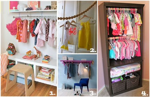 DIY Closet Ideas For Kids Rooms