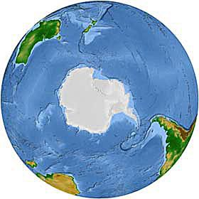 About the Earths Geographic and Magnetic South Pole