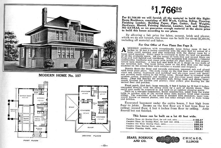Is your foursquare house from a catalog for American foursquare plans