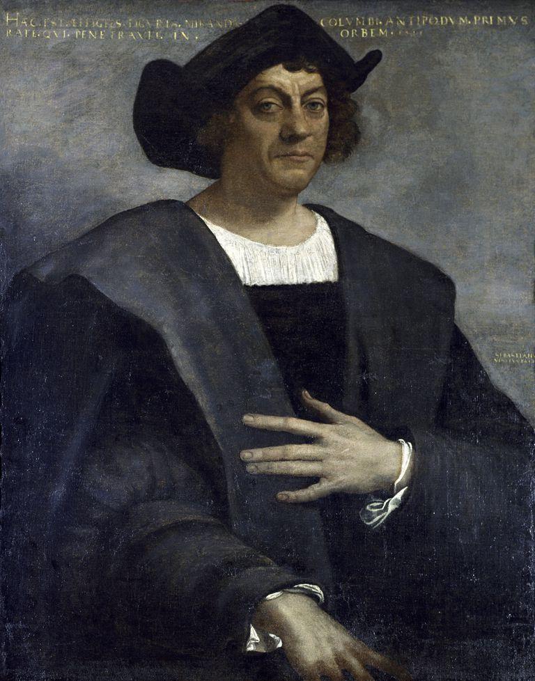 Christopher Columbus, by Sebastiano del Piombo