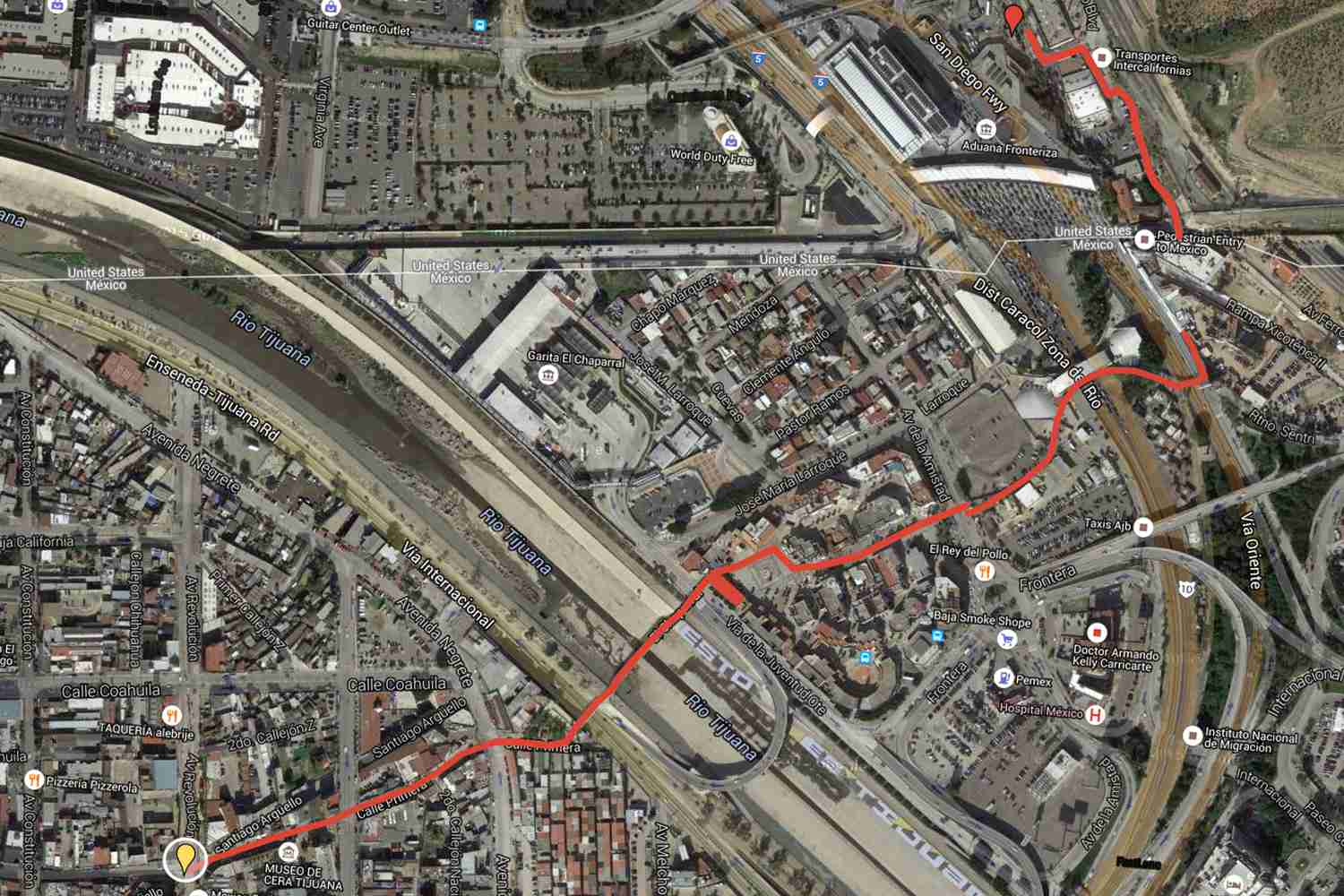 How to Cross the Tijuana Border Step by Step