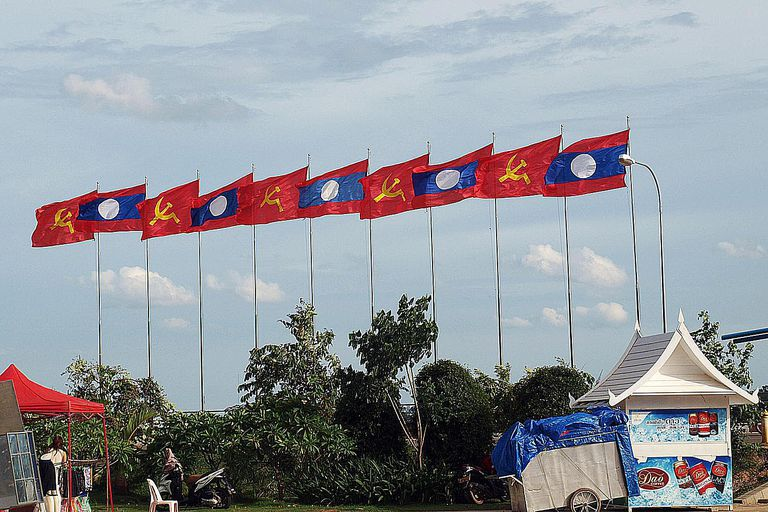 Bandera laosiana