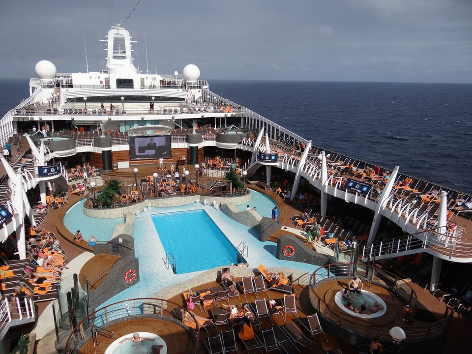 MSC Divina Cruise Ship Exteriors And Outdoor Decks - Msc divina cruise ship