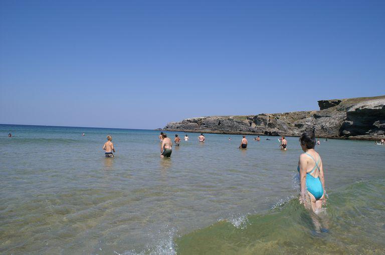 Morbihan : Belle-île-en-mer : plage du donnant :