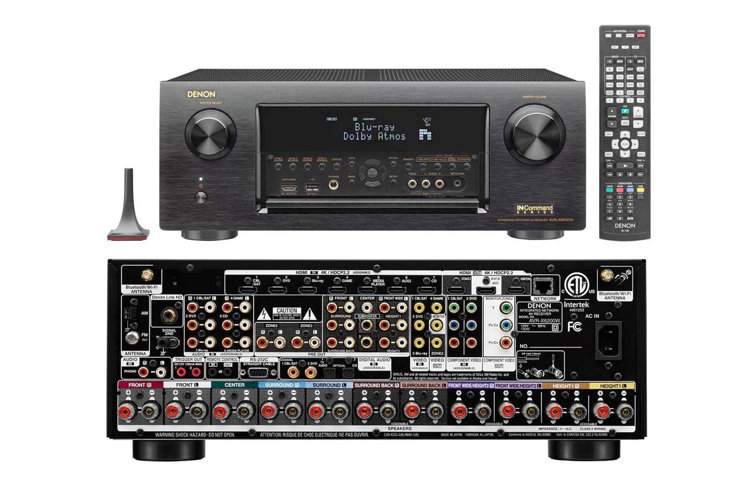 denon avr x6200w high end home theater receiver profiled. Black Bedroom Furniture Sets. Home Design Ideas
