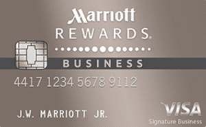 The 7 best credit cards for business travelers to apply for in 2018 best for hotel stays marriott rewards premier business credit card reheart Gallery