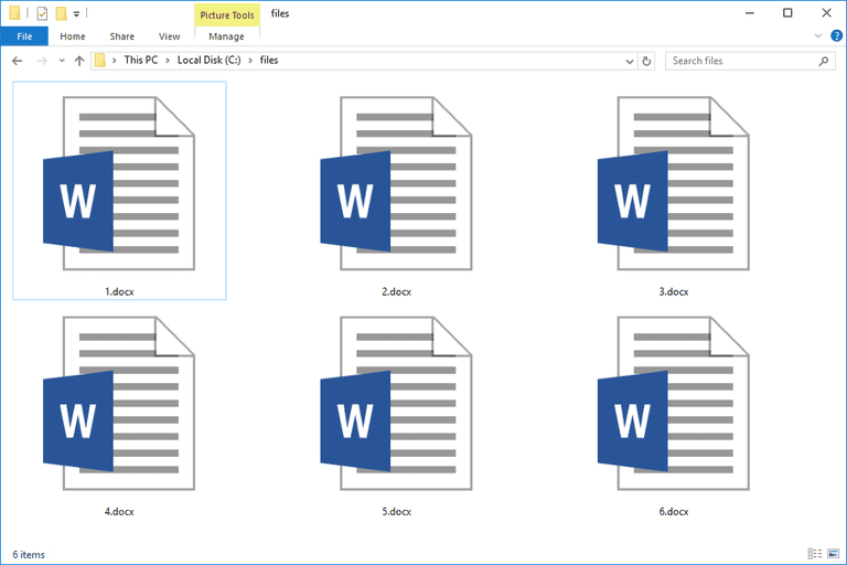 DOCX Files