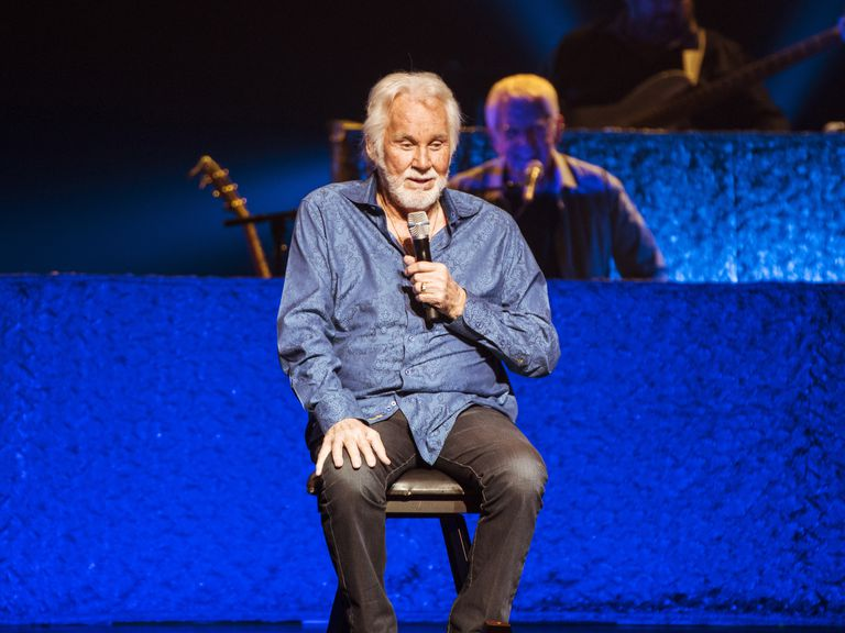 Kenny Rogers performs at London Palladium on November 10, 2016 in London, England.