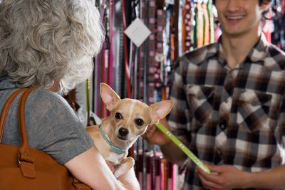 A pet store manager earns more in New York and Washington, D.C., because housing and living costs are higher in that state and district. For example, a pet store manager earning $30, in Columbus, Ohio would need to make $72, in New York City to maintain the same living standard, according to CNN Money's