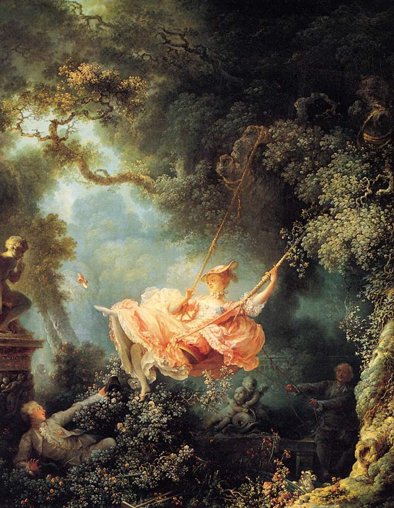 A retrospective on eighteenth-century painter Fragonard in 2015 at the newly renovated Musee du Luxembourg.