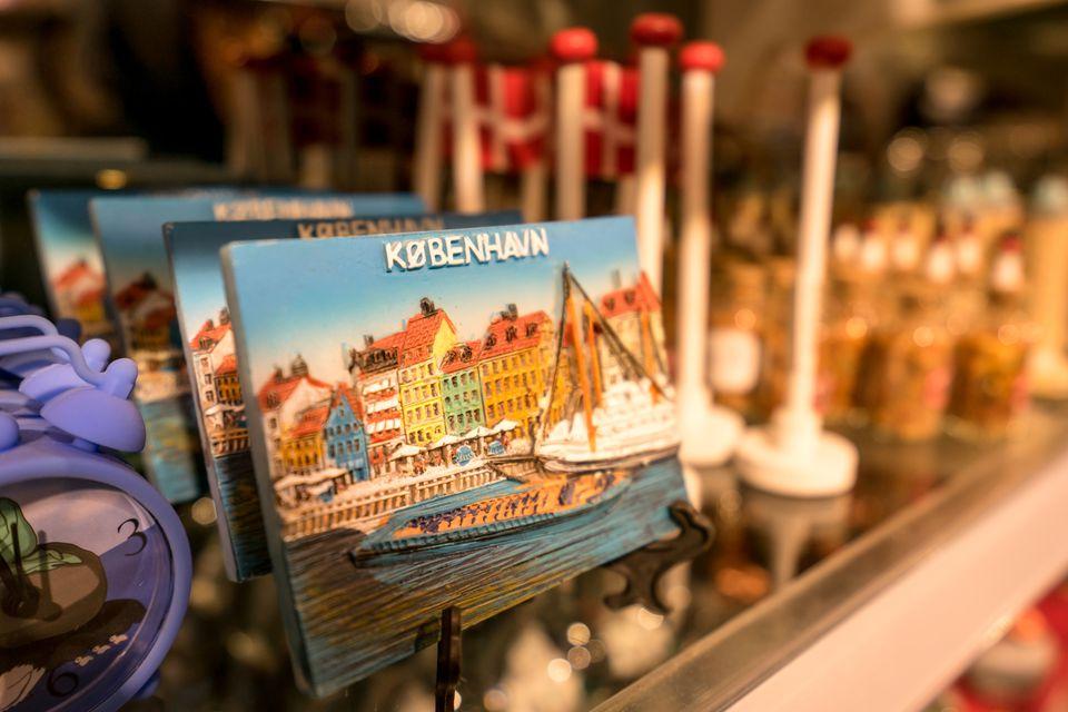 Souvenir Shop, Copenhagen, Denmark