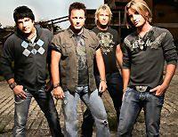 Lonestar - Michael Britt, Dean Sams, Keech Rainwater and Cody Collins