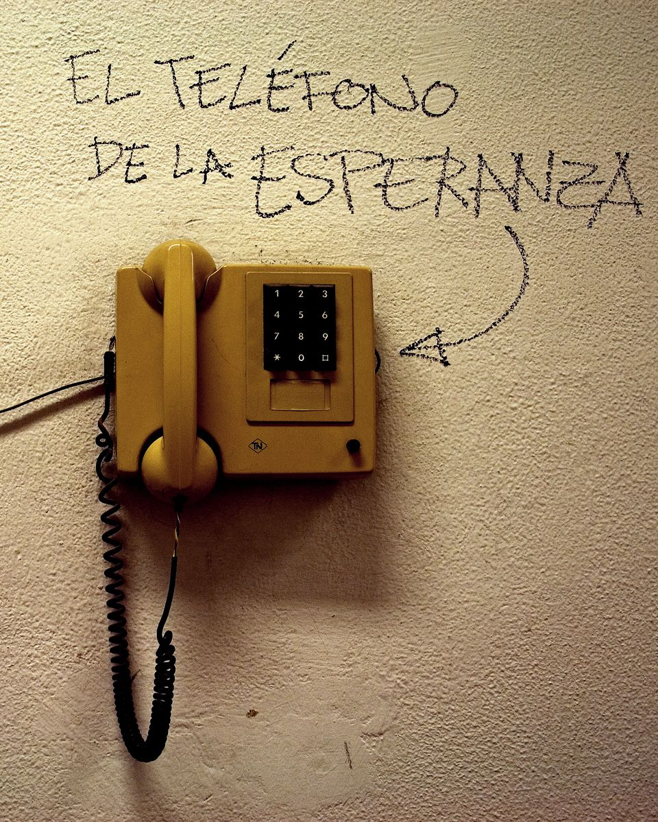 Telephone in Madrid