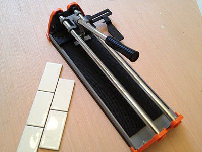 How To Cut Ceramic Tile With A Snap Tile Cutter