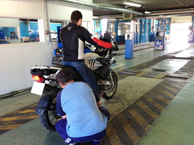 Inspección Técnica moto