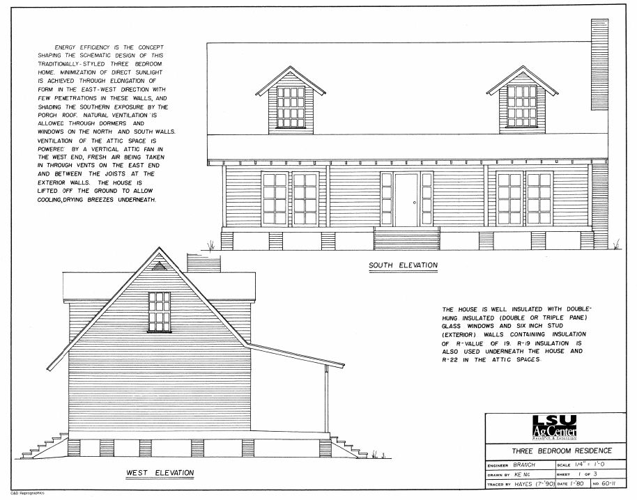 Southern exposure home plans for Southern exposure house plans