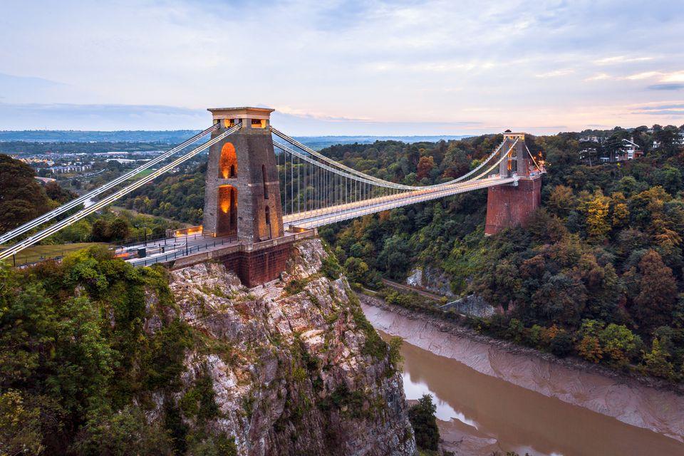 Clifton Suspension bridge, Avon Gorge, Bristol