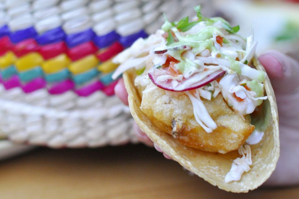 Kid friendly fish tacos for Wahoo fish taco recipe