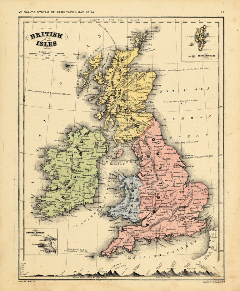 Map of the U.K.