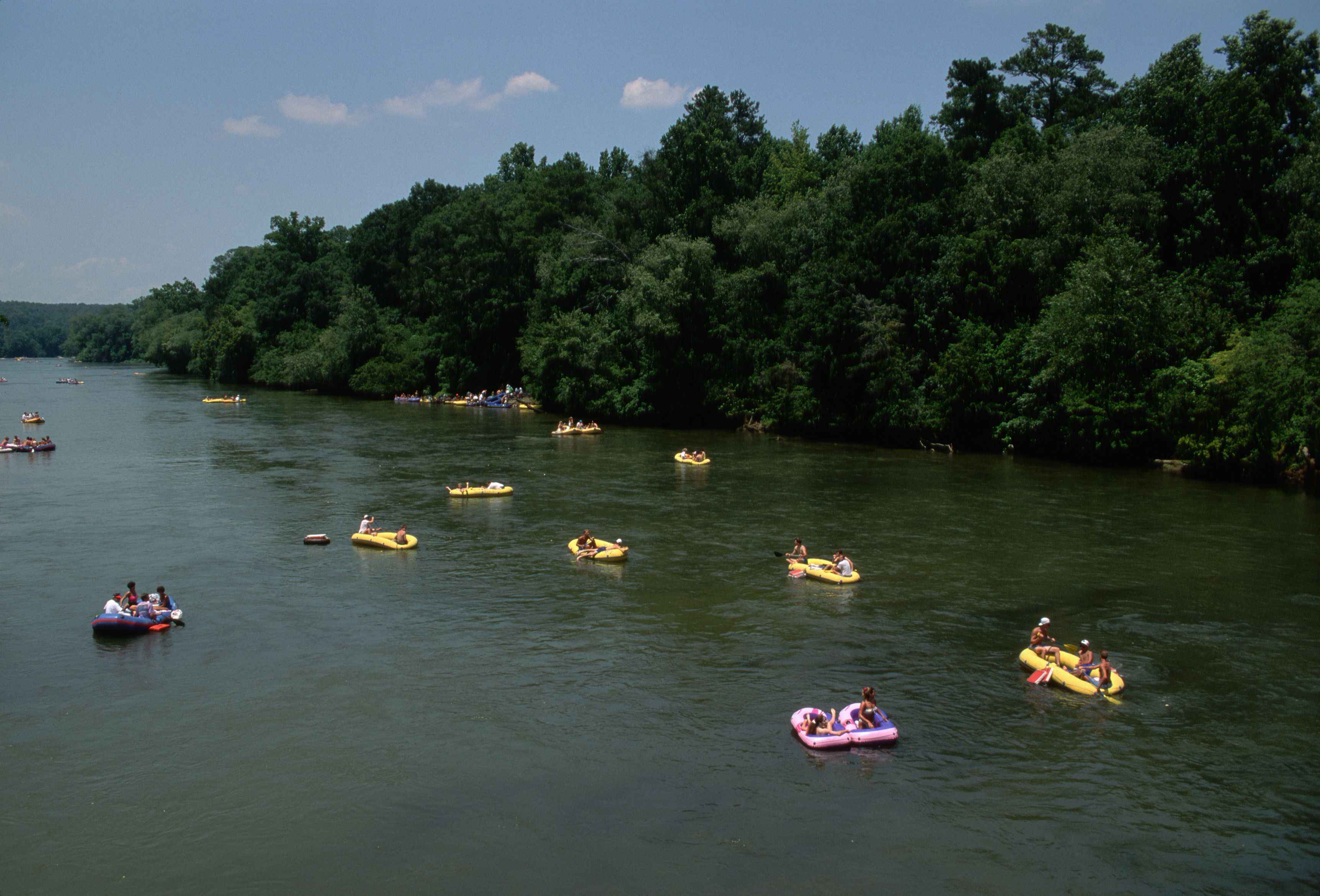 Where To Go River Tubing In Atlanta And Helen Ga