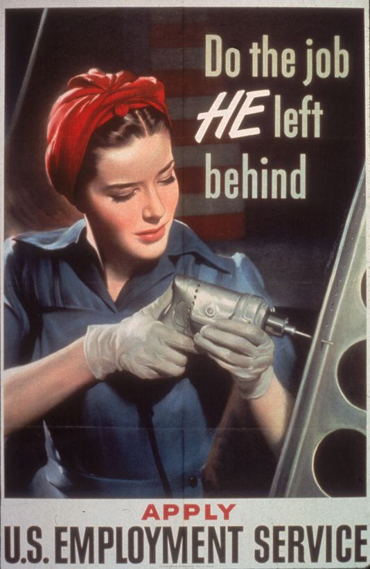 a look at the american women during world war ii