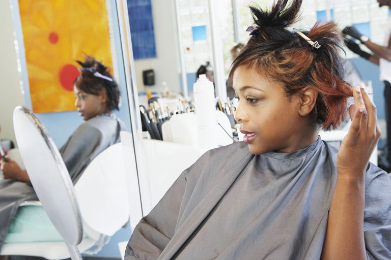 Chemical abuse is a big cause of hair breakage and not seeing growth.