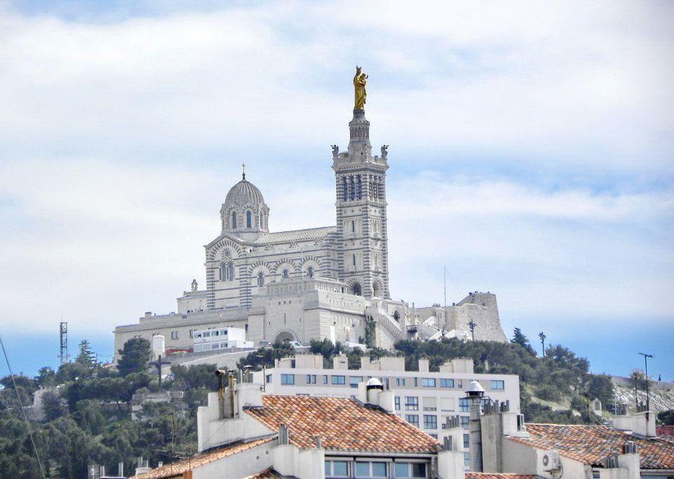 Basilica Notre Dame de la Garde in Marseille, France