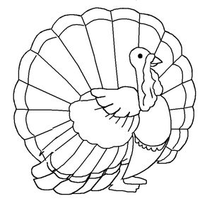 dltks thanksgiving coloring pages - Thanksgiving Pages To Color For Free