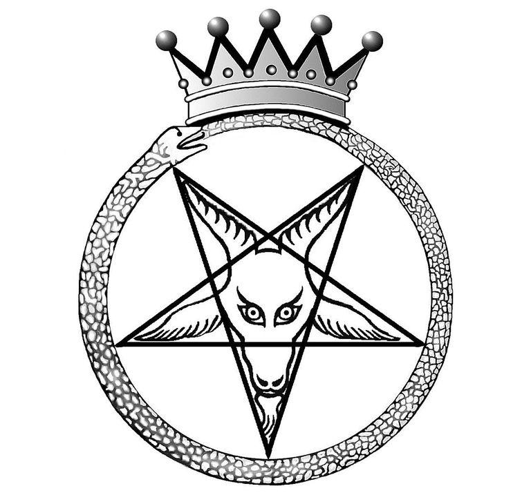 Crown Baphomet - Seal of Satan.
